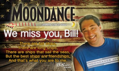 We miss you, Bill! Flag