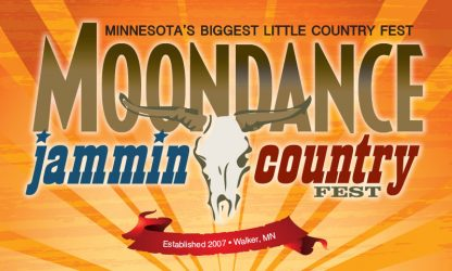 Moondance Jammin Country Fest Flag