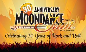 30th Anniversary Moondance Jam Flag